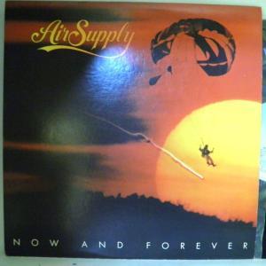 【検聴合格】エア・サプライAIR SUPPLY「 NOW AND FOREVER 」【LP】|yakusekien