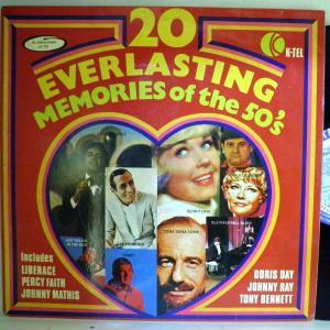 【検聴合格】50s/Rock & Roll/Rockabilly「20 eveflasting memories of the 50s 」【LP】|yakusekien