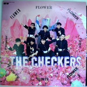 ←【検聴合格】↑針飛無安心レコード】1986年・並盤! 帯なし・歌詞カードなし・チェッカーズ「フラワー FLOWER」3|yakusekien