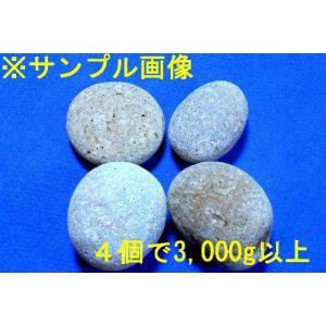 【薬石苑】姫川薬石【虎模様】お得用4個で3,000g強セット|yakusekien