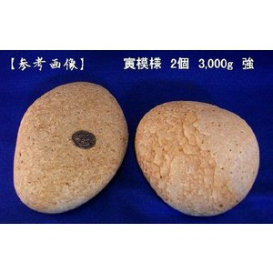 【薬石苑】姫川薬石 虎模様2個【3,000g強】 セット|yakusekien