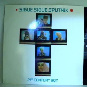 【検聴合格】ジグ・ジグ・スパトニック  SIGUE SIGUE SPUTNIK「21ST CENTURY BOY 」【LP】|yakusekien