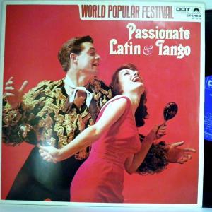 ←【検聴合格:↑針飛無安心レコード】197?年・ワールドファミリーレコード「情熱のラテンとタンゴ」【LP】 yakusekien