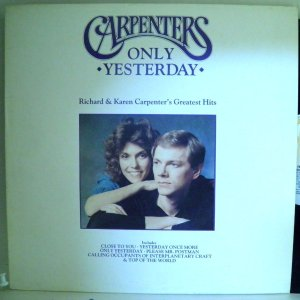 【検聴合格】カーペンターズ carpenters 「 only ・yesterday・ 」【LP】|yakusekien