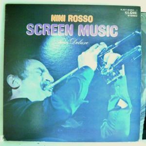 【LP】針飛びしない安心レコード:1972年・並盤・2枚組・ニニ・ロッソ「NINI ROSSO SCREEN MUSIC twin deluxe」【光音舎】 yakusekien