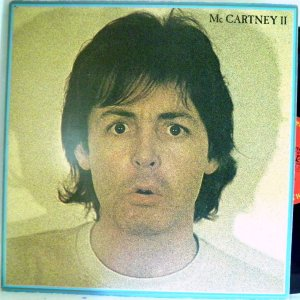 【検聴合格】1980年・稀少盤!良盤・ポール・マッカートニー「ポール・マッカートニーII」【LP】