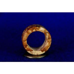 【薬石苑】姫川薬石 多用途 大きな健康指輪&リング22号E|yakusekien