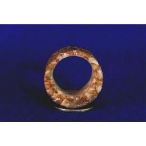 【薬石苑】姫川薬石 多用途 大きな健康指輪&リング22号I|yakusekien