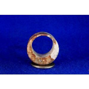 【薬石苑】姫川薬石 多用途 大きな健康指輪&リング22号A|yakusekien