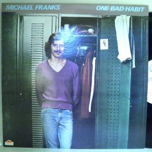 【検聴合格:針飛び無し】マイケル・フランクス 「Michael Franks  N.Y.ストーリー」【LP】|yakusekien