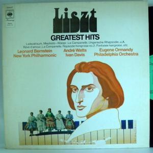 ←【検聴合格】↑針飛無安心レコード】1971年・美盤!稀少盤!外盤「 LISZT - GREATEST HITS 」【LP】|yakusekien