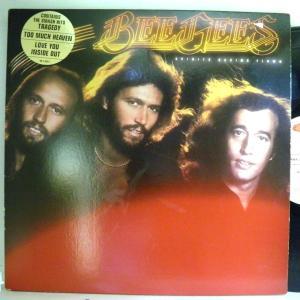 【検聴合格:針飛び無し】ビージーズ Bee Gees 「Bee Gees contains the smash hits tragedy too much heaven love you inside out」【LP】|yakusekien