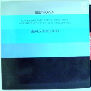←【検聴合格】↑針飛無安心レコード】1981年・外盤・超稀少盤!美盤!BEAUX ARTS TRIO「BEAUX ARTS TRIO-  BEETHOVEN」【LP】|yakusekien