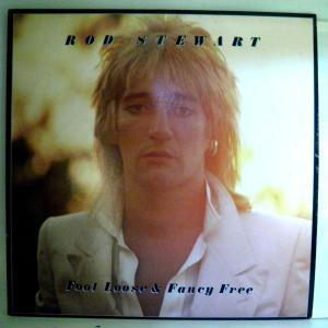 【検聴合格:針飛び無し】ロッド・スチュワート  Rod Stewart 「Rod Stewart  ?? Foot Loose & Fancy Free 」【LP】|yakusekien