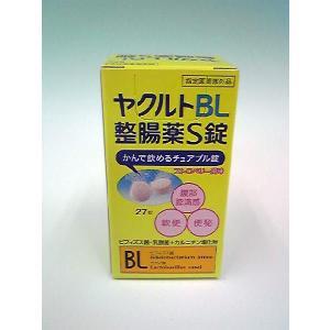 ヤクルトBL整腸薬S錠 27錠 ●内容量 27錠 ●下整腸(便通を整える)、腹部膨満感、軟便、便秘&...