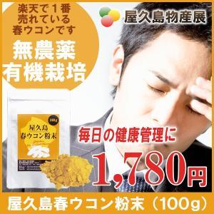屋久島春ウコン粉末(100g) / 無農薬 / 有機栽培 / 産地直送|yakushimashop