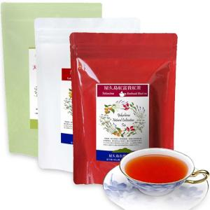 私たちが作った屋久島紅茶3点セットです /屋久島自然栽培茶3gx15px3袋/紅富貴セカンド/在来紅...