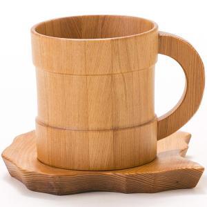 屋久杉 コーヒーカップ ソーサー付 yakusugi-art-craft