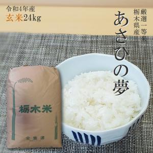 お米 24kg 栃木県 玄米 一等米 あさひの夢 平成29年...