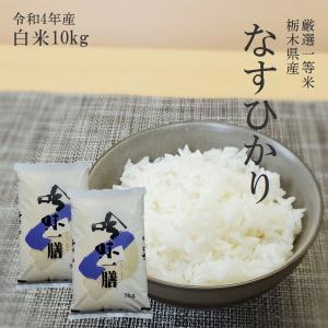 お米 10kg(5kg×2) 栃木県 白米 一等米 なすひか...
