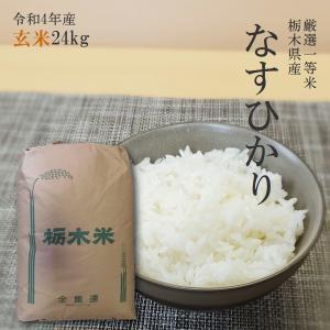 お米 24kg 栃木県 玄米 一等米 なすひかり 平成29年...