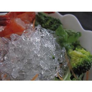 海藻から抽出したアルギン酸ナトリウムで作った海藻麺シークリスタル♪(冷凍品との同梱不可)【クール便】