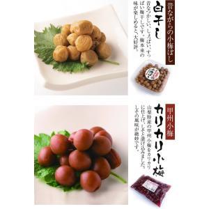 昔ながらの「甲州小梅ぼし2種セットC」(カリカリ小梅&白干し)合計1kg【直送品H】|yama