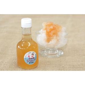 かき氷シロップ「桃」 無香料・無着色・山梨県産果汁使用・フルーツソース|yama