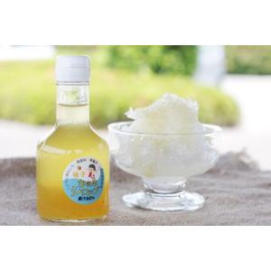 かき氷シロップ「ゆず」 無香料・無着色・山梨県産果汁使用・フルーツソース|yama