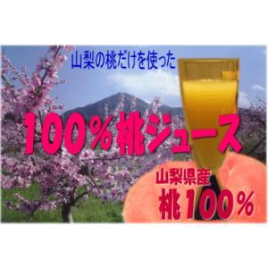 山梨の桃ピーチジュース30本入り1箱|yama