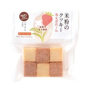 米粉のクッキー 苺&ぷれーん【卵乳製品不使用】【直送品B】 yama