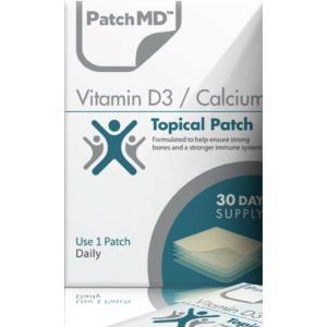 パッチMD ビタミンD3 カルシウム(骨を丈夫にする)貼る サプリメント 30回分