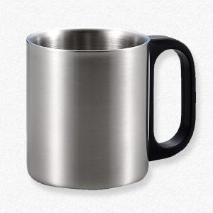 名入れOK♪ ステンレス製二重マグカップ|yamabushi