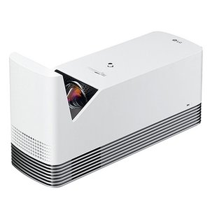 LGエレクトロニクス HF85LS ホームプロジェクター 超短焦点モデル ホワイト|yamada-denki