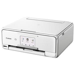 キヤノン PIXUSTS8130WH A4プリント対応 インクジェット複合機 「PIXUS(ピクサス)」 ホワイト|yamada-denki
