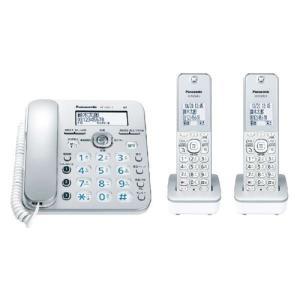 パナソニック VE-GZ31DW-S コードレス電話機(子機2台付き) シルバー<br>...