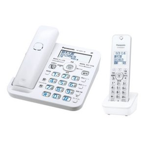 パナソニック VE-GZ51DL-W デジタルコードレス電話機(子機1台付き) ホワイト<br...