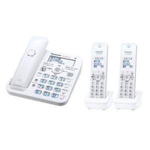 パナソニック VE-GZ51DW-W デジタルコードレス電話機(子機2台付き) ホワイト<br...