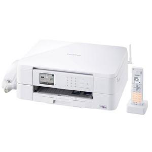 ブラザー MFC-J737DN A4対応 FAX複合機 「PRIVIO(プリビオ)」 (コードレス受話器1台付) ホワイト|yamada-denki