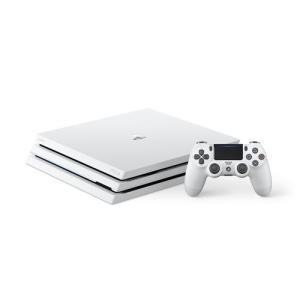 PlayStation4 Pro グレイシャー・ホワイト 1TB CUH-7200BB02<b...