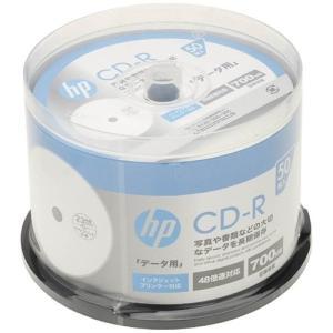 ヒューレットパッカード CDR80CHPW50PA データ用700MB 48倍速対応CD-R 50枚パック|yamada-denki