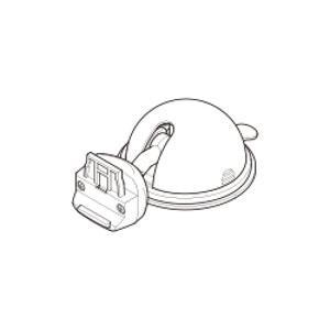 ユピテル OP-CU100KIT YPF7500-P用 吸着盤クレードルキット yamada-denki