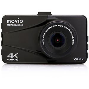 ナガオカ MDVR108WDR4K 高画質4K Ultra HD WDRドライブレコーダー・123