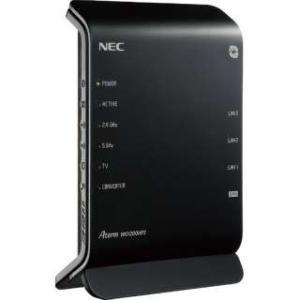 NEC PA-WG1200HP3 11ac対応 867+300Mbps 無線LANルータ(親機単体)...