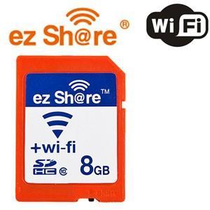 磁気研究所 MLEZSDHC8GBCL10JP ez Share Wifi機能付き SDHCカード Class10 8GB|yamada-denki