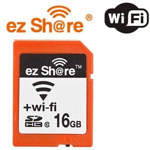 磁気研究所 MLEZSDHC16GBCL10JP ez Share Wifi機能付き SDHCカード Class10 16GB|yamada-denki