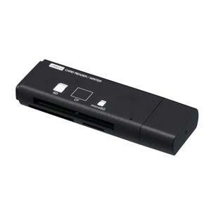 ナカバヤシ CRW-33M60BK USB3.0マルチカードリーダー/ライター (ブラック)|yamada-denki
