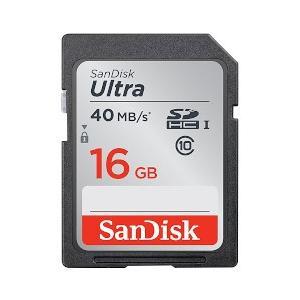 サンディスク ウルトラ SDHC UHS-I カード 16GB SDSDUN-016G-J01 SDSDUN-016G-J01|yamada-denki