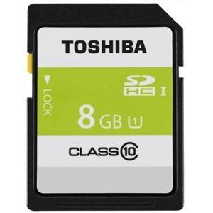 東芝 SDAR40N08G 高速SDHC UHS-Iメモリカード Class10対応 8GB|yamada-denki