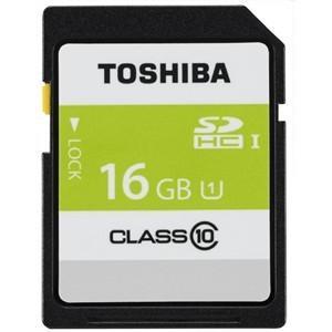 東芝 SDAR40N16G 高速SDHC UHS-Iメモリカード Class10対応 16GB|yamada-denki